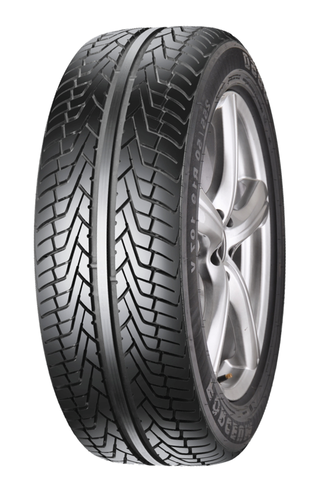 Forceum's V-shaped SUV Tire | D550