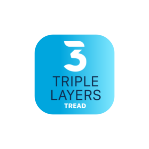 Forceum Tire Technology | Triple Layers Tread